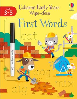 First Words (Early Years Wipe-Clean)