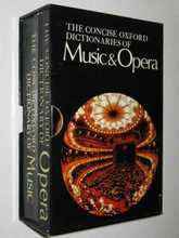 Homepage the concise oxford dictionary of music   opera  2 vol