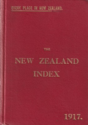 The New Zealand Index 1917