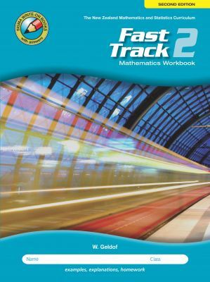Fast Track 2 Mathematics Workbook Year 10 - Able Student (2nd Edition)