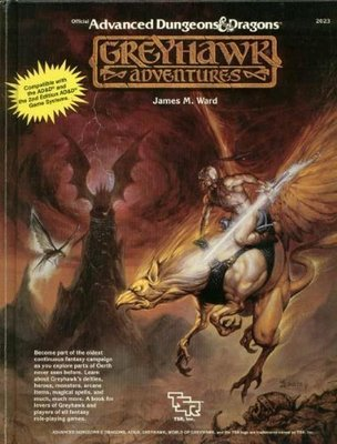 Advanced Dungeons and Dragons -Greyhawk Adventures