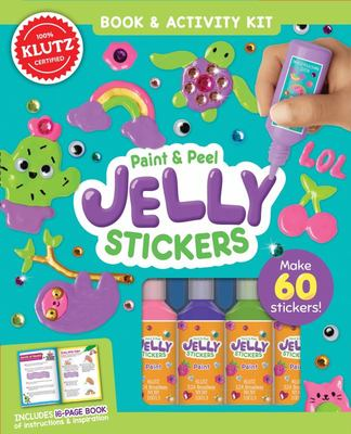 Paint & Peel Jelly Stickers (Klutz)