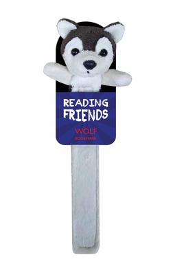 Wolf Plush Bookmark (RF009) Reading Friends