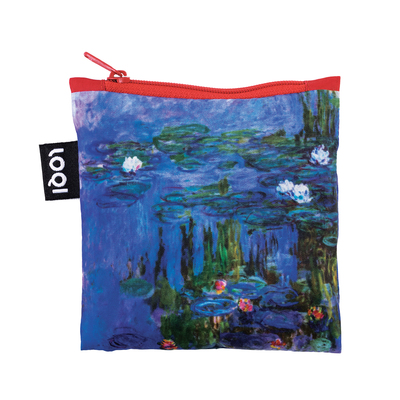 Water Lilies - Museum Collection - Reusable Loqi Bag