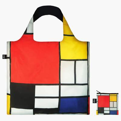 Piet Mondrian LOQI Reusable Shopping Bag