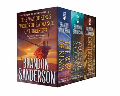 Stormlight Archive MM Boxed Set I, Books 1-3 - The Way of Kings, Words of Radiance, Oathbringer