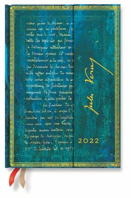 Paperblanks Diary 2022 - Verne 20000 leagues Midi Week to an opening