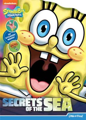 Spongebob Squarepants Shaped Look and Find