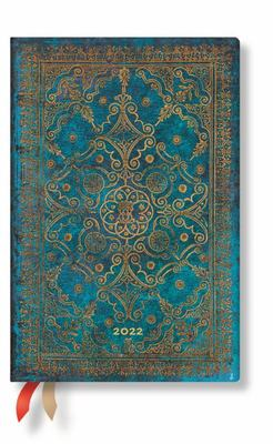 Paperblanks Diary 2022 - Azure Mini WTO Weekly Notebook