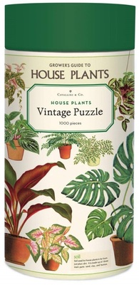House Plants Vintage: 1000-Piece Jigsaw Puzzle (CVPZL-HP) Cavallini & Co