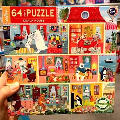 Koala House 64 Piece Puzzle
