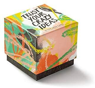 Trust Your Crazy Ideas - Thoughtfulls (Box of pop-open cards)