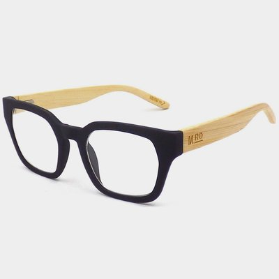 Readers - Rectangular Black +1.50