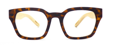Readers - Rectangular Tortoiseshell +2.00