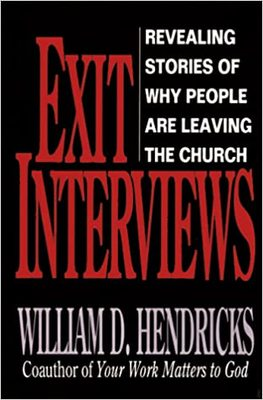 Exit Interviews - Revealing Stories of Why People Are Leaving the Church