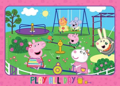 Peppa Pig 35pc Frame Tray Puzzle