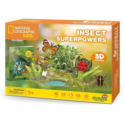 Insect Superpowers 3D Puzzle & Book (National Geo Kids)