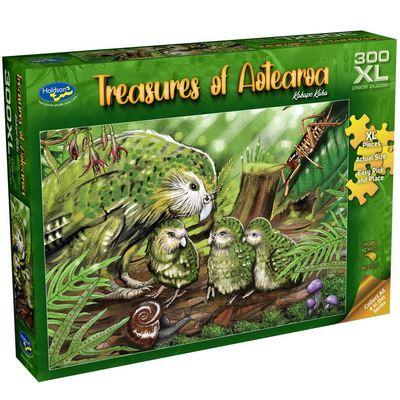 Kakapo Kaha: Treasures of Aotearoa 300XLpc Jigsaw Puzzle