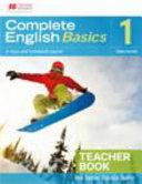 Complete English Basics 1 3ed Teacher