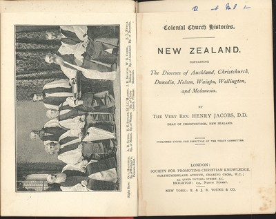Colonial Church Histories: Dioceses of New Zealand