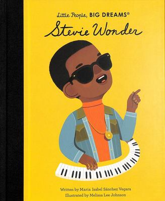 Stevie Wonder (Little People, Big Dreams)