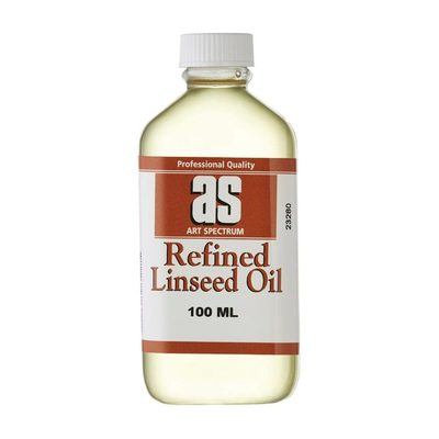 Large l1 as refined linseed oil 100ml