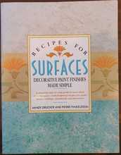 Homepage maleny bookshop recipes for surfaces  decorative paint finishes made simple