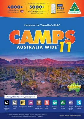 Camps 11 Camping Guide (Compact A4 Size Edition)