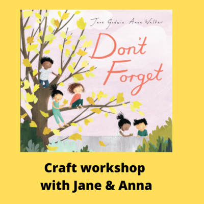 Ticket for Craft Workshop with Jane and Anna Saturday 15th May 10:30am