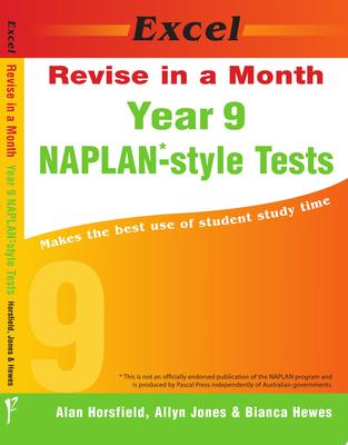 Year 9 NAPLAN*-style Tests - Excel Revise in a Month