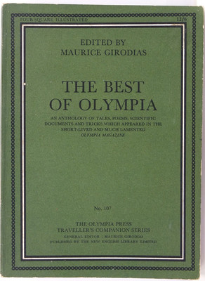 The Best of Olympia - An anthology of tales, poems, scientific documents and tricks which appeared in the short-lived and much-lamented Olympia Magazine