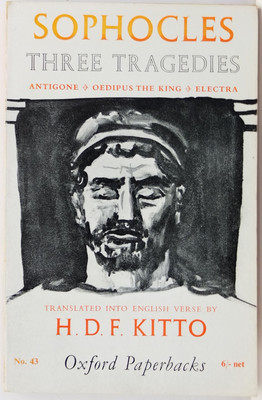 Sophocles - Three Tragedies- Antigone; Oedipus the King; Electra