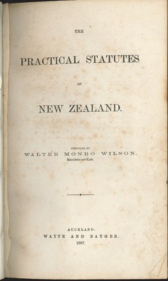 The Practical Statues of New Zealand