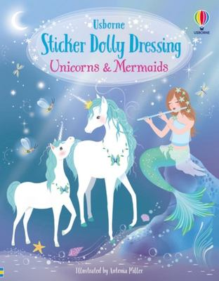 Unicorns and Mermaids (Sticker Dolly Dressing)