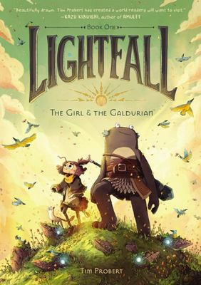 The Girl & the Galdurian (Lightfall #1)