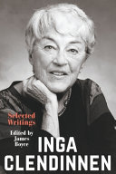 Inga Clendinnen: Selected Writings