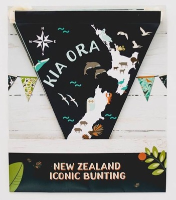 NZ Iconic Bunting