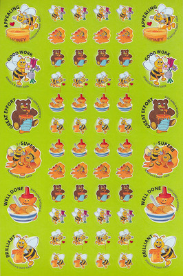 SS1007 Honey Stickers Scentsations Pack 0f 180 - ATA