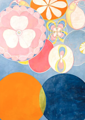 "Hilma af Klint ""The Ten Largest, No. 02, Childhood, Group IV"" Greeting Card"