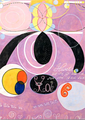 "Hilma af Klint ""The Ten Largest, No. 06, Adulthood, Group IV Greeting Card"