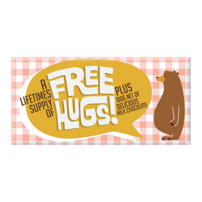 Free Hugs! (Milk Chocolate)