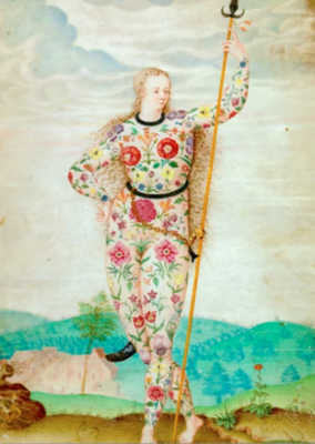 Jacques le Moyne Greeting Card