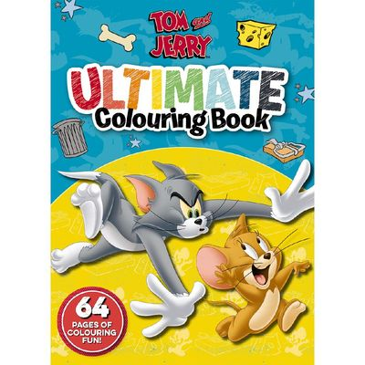Tom and Jerry: Ultimate Colouring Book (Warner Bros)