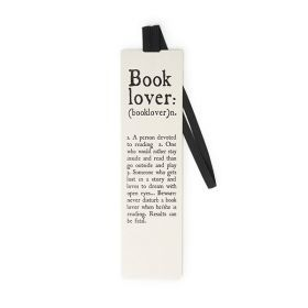 Book Lover Bookmark w/elastic (SE0182)