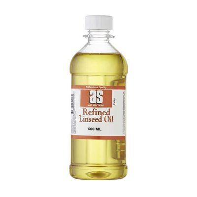 Large l5 as refined linseed oil 500ml
