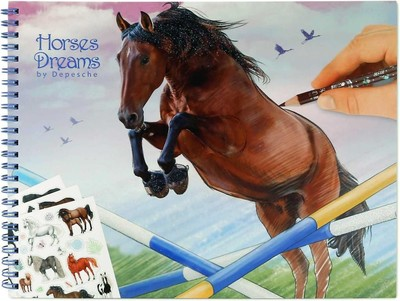 Horses Dreams Colouring & Activity Book