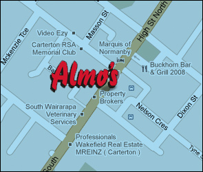 Almos Map