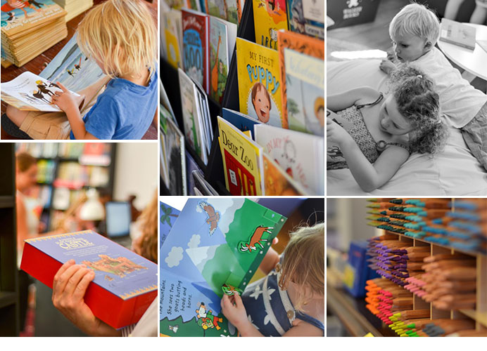 There's something for everyone at Paper Bird Children's Books and Arts