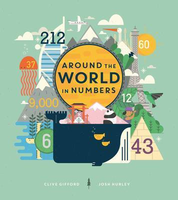 Around the World in Numbers Cover Image
