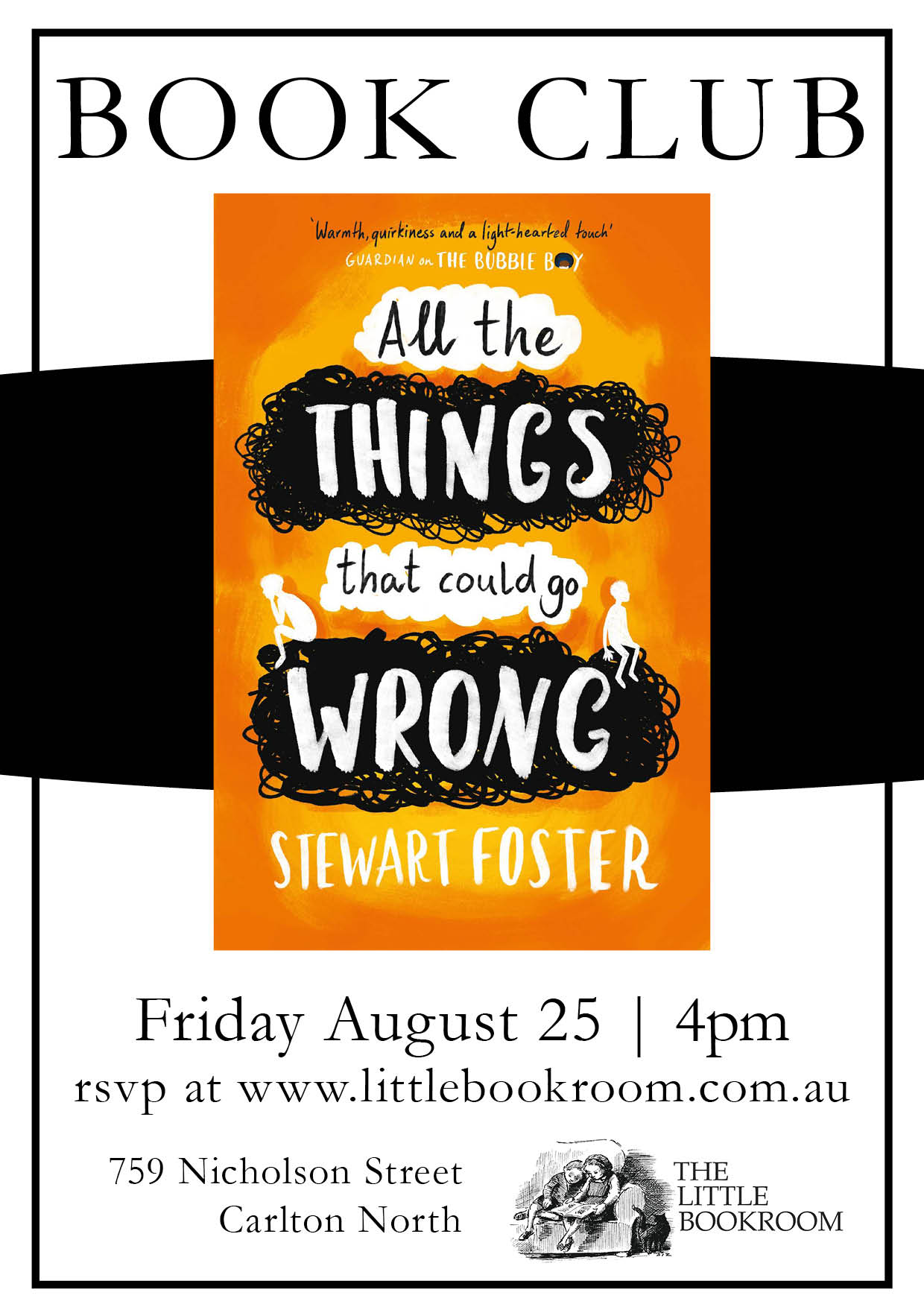 Book Club: All the things that could go wrong by stewart foster